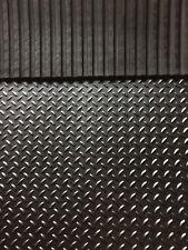 Heavy Duty Rubber Stable Matting 6ftx4ft 12mm Horse Mat/ Checker design freepost