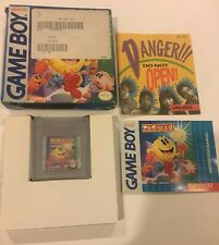 Pac-Man (Nintendo Game Boy, 1991) With Box And Manual.