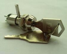 10x Metal Key Switch ON/OFF & Lock Machinery & Electronic double function 20keys