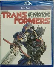 NEW TRANSFORMERS THE ULTIMATE FIVE MOVIE COLLECTION BLU RAY 5 DISC SET BUY ITNOW