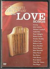 IMAGE ENTERTAINMENT MY FAVORITE BROADWAY, THE LOVE SONGS, USED DVD
