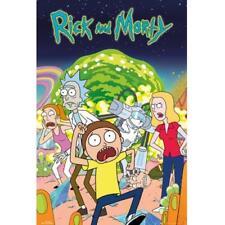 Rick y Morty Póster Grupo 239 Mercancía Oficial
