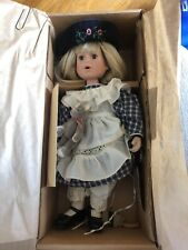 Boyds Bears The Yesterday's Child Doll Collection Leslie 4818 Milk And Cookies