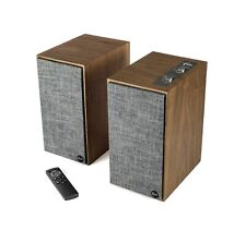 Klipsch The Fives Walnut Powered Bookshelf Speakers (Open Box)