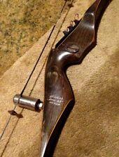 "vintage FRED BEAR ""BLACK PANTHER HUNTER"" RECURVE BOW (AMO-52"") 40/45# RH hunting"