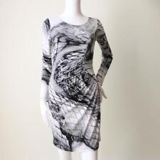 VERY VERY Long Sleeve Stretch Dress Size 8 US 4 Made in Australia