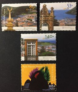 Portugal 2001 - Azores stamps Angra do Heroísmo, Europa CEPT Water MNH