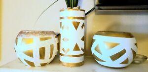 3 pieces vase set