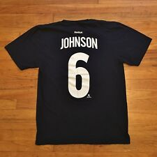 Colorado Avalanche Erik Johnson Reebok NHL Hockey Player Shirt L