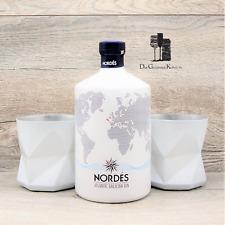 Nordes Gin mit 2x Originalen Nordes Gläsern, Spanien, 0,7l, 40%