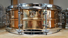 "Ludwig 14x5"" SUPRA PHONIC Bronzo Snare Drum lb550t Tube lugs USA/rullante"