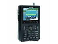 "SATlink 3.5"" DVB-S FTA Data WS-6906 Digital Satellite Signal Finder ID Lock On"