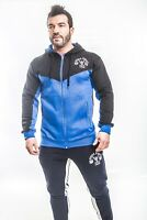 Mens Bodybuilding Gym Hoodie Training Top Fitness Gym Wear Muscle Works Gym New