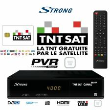 TNTSAT HD USB 500GB HDD PVR  Decoder + TNTSAT Viewing Card – French TV in UK!!