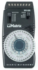 Matrix Mr600 Quartz Dial Metronome - New - with free shipping