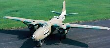 A-20 Boston Douglas USA Bomber Airplane A20 Mahogany Kiln Dry Wood Model Large