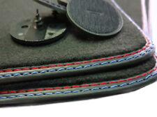 Neu M1 Fußmatten für BMW E87 1er Original Qualität Velours Doppelnaht 2tlg +4 K