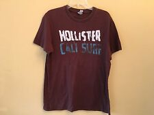 HOLLISTER Brown Short Sleeve T, Size L, EUC!