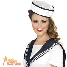 Smiffys Hats & Headwear Sailor Fancy Dresses