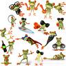 5 Pcs 3D Peep Frog Funny Car Stickers Truck Windows Graphics Sticker Wonderful