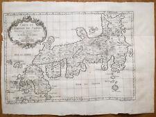 Bellin Original Map Japan Empire du Japon 1780+