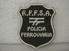 More details for brazillian railway police patch r.f.f.s.a. policia ferroviaria