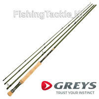 Greys GR80 Fly Fishing Rod - 4 Piece Powerlux Single Hand Fly Rods 'NEW 2020'