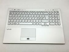 Sony Vaio VPCSE Palmrest with Touchpad and Keyboard Nordic layout