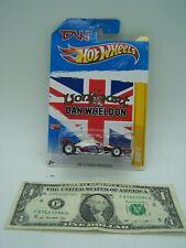 Hot Wheels - New Models Lion Art - Dan Wheldon White DW-1 - 2011