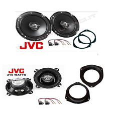 Kit 4 casse JVC + supporti GRANDE PUNTO  portiere anteriori e posteriori