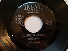 CHARLIE SAUCEDA y LOS FLAMINGOS - La Cunita RARE 60's Latin Ranchera Polka INFAL