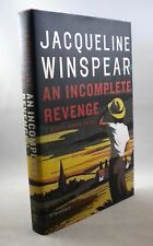 AN INCOMPLETE REVENGE - Jacqueline Winspear - 1st Edition 1st Printing - 2008