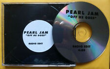 PEARL JAM Off He Goes PROMO CD SINGLE No Code RADIO EDIT Custom Sticker 1996
