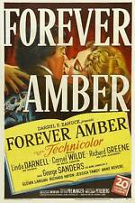 FOREVER AMBER Movie POSTER 27x40 Linda Darnell Cornel Wilde Richard Greene
