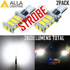 912 LED STROBE BackUp Light Bulb Center High Stop Light Truck Bed Cargo Light