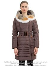 `` Goose Down Coat Jkt Parka w/ Fox Fur sz XXL US 14 EU 46 $895 NWT Пуховик Лиса