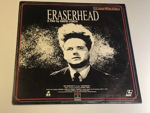 Eraserhead 1977 Laserdisc RCA Columbia Pictures Home Video 1984 .Rare.Like New!
