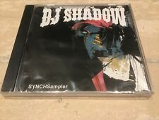 DJ Shadow SYNCHSampler rare promo CD 2009 Universal new & sealed  UNKLE