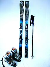 ELAN Amphibio 78 Ti 160cm Ski Package w/ Fusion Bindings, Boots & Poles Included