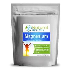 60 magnesio pastillas de óxido de suplemento mineral vital para sanos los músculos y huesos