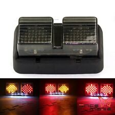 EURO LED Brake Tail Light Smoke Lens Integrated Turn Signal For 99-06 Honda RC51
