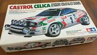 TAMIYA 24125 Toyota Celica GT-Four Castrol plastic model car kit 1:24th scale