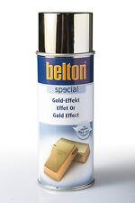 Belton Gold-Effekt 0,4l Goldlack Sprühlack Lackspray Goldspray