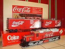 LGB 72854 1995 LIMITED EDITION RED COCA-COLA LGBoA SUPER SET! LNIB!! SUPER RARE!