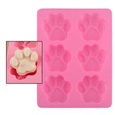Preciosa silicona perro patata de azúcar Sugarcraft Cake molde cubo de hielo DIY