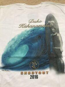 NWOT DA HUI 2016 BACKDOOR SHOOTOUT DUKE KAHANAMOKU NORTH SHORE OAHU HAWAII M T-