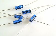 CDE Aluminium Electrolytic Capacitor Axial 10uf 50v 106TTA050M 5 pieces OL0103