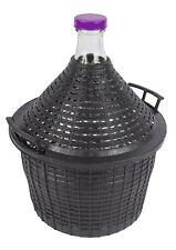 Glass Wine Fermenter 54L Plastic Basket Fermentation Home Making Carboy Demijohn