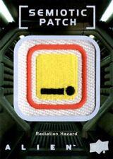 Alien Movie, Upper Deck, Semiotic Standards Patch Card SP16 Radiation Hazard