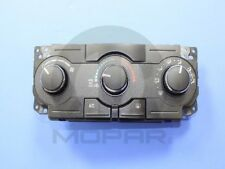 A/C and Heater Control Switch Mopar 55111871AE